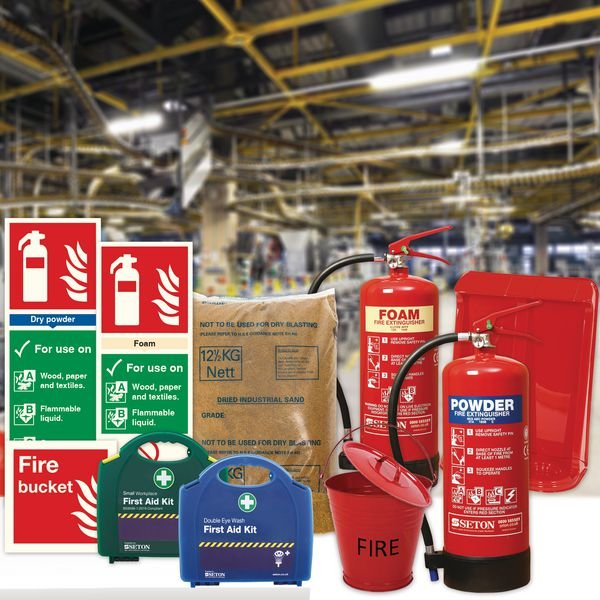 Factory Floor Fire Safety Bundle Kit