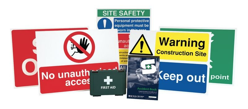 Construction Sign Starter Packs - Small