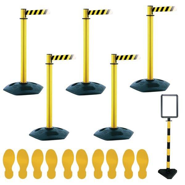 Social Distancing - Facility Post & Floor Marking Kit