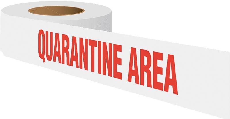 Quality Assurance Barricade Tape - Quarantine Area