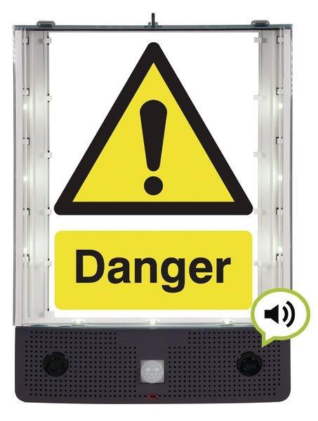 Seton Talking Safety Sign Alerter - Danger Sign