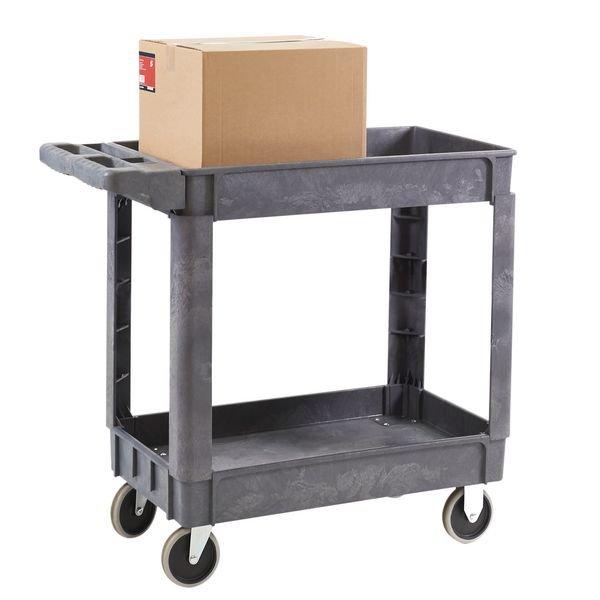 Deep Shelf Trolleys with 2 Shelves