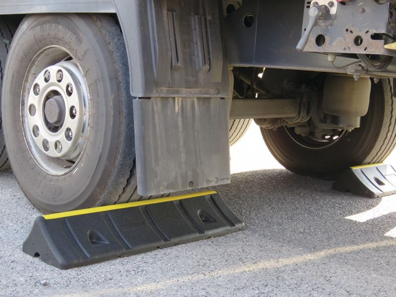 Extra Wide Wheel Chock - Parking Blocks & Kerbs
