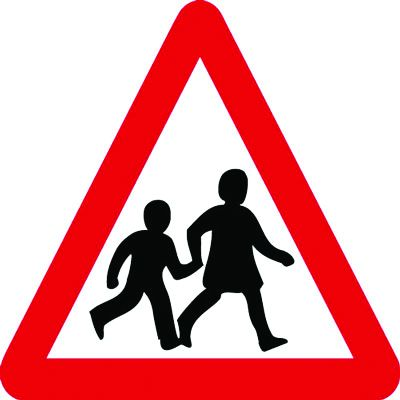 Traffic Signs - School Crossing