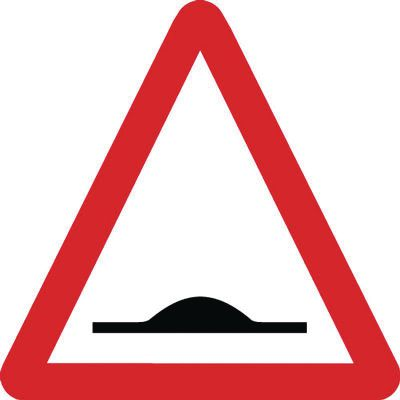 Traffic Signs - Road Humps Ahead