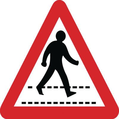 Traffic Signs - Pedestrian Crossing