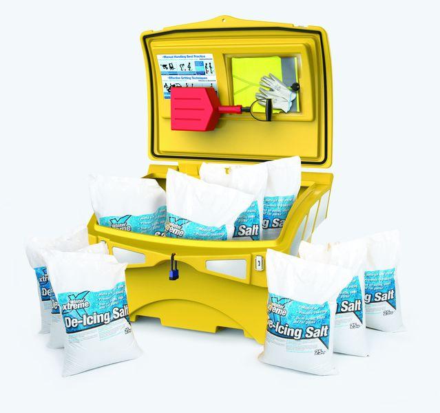 220 Litre Ultimate Grit Bin Kit With Salt