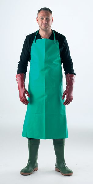 Chemical Resistant Apron with Ties