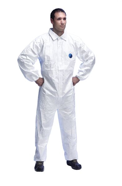 Tyvek® Collared Elasticated Coverall