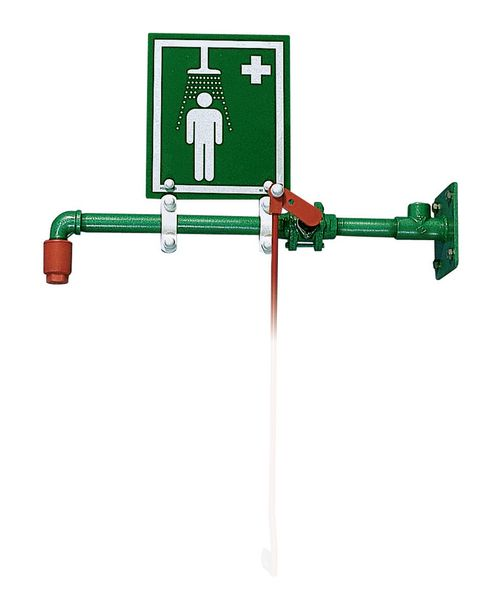 Wall-Mounted Emergency Safety Showers