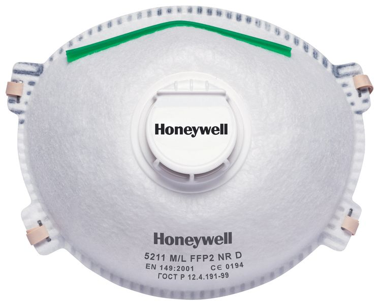 Honeywell 5000 Series Premium Dust Masks FFP2