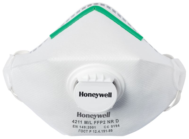 Honeywell 4000 Series Premium Folding Dust Masks FFP2