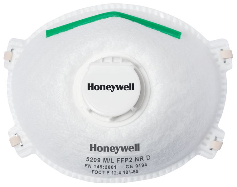 Honeywell Comfort Series 5000 Dust Masks FFP2