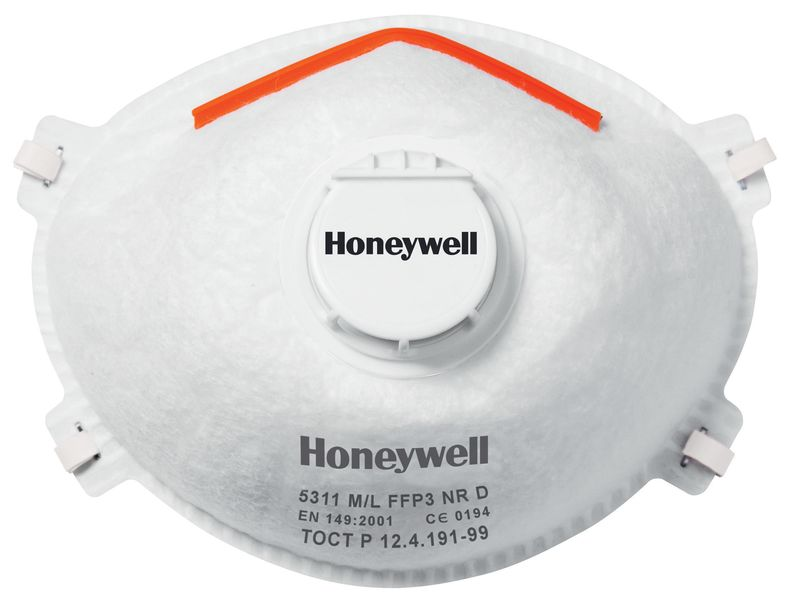 Honeywell Comfort Series 5000 Dust Masks FFP3