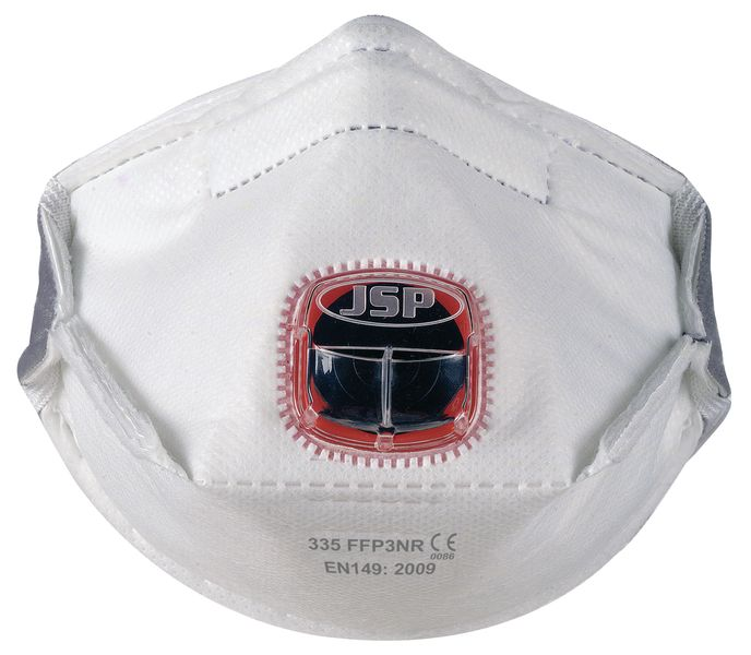 JSP® Typhoon™ Valve Fold Flat Dust Masks - FFP3