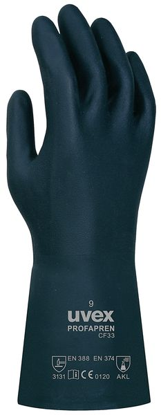 Uvex Profapren Chemical Resistant Gloves
