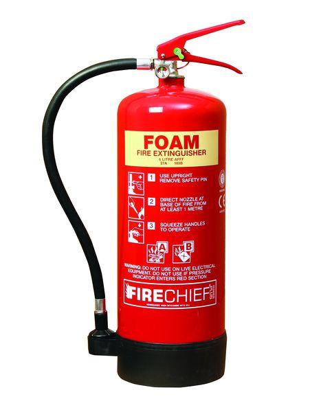 AFFF Additive Spray Foam Fire Extinguisher