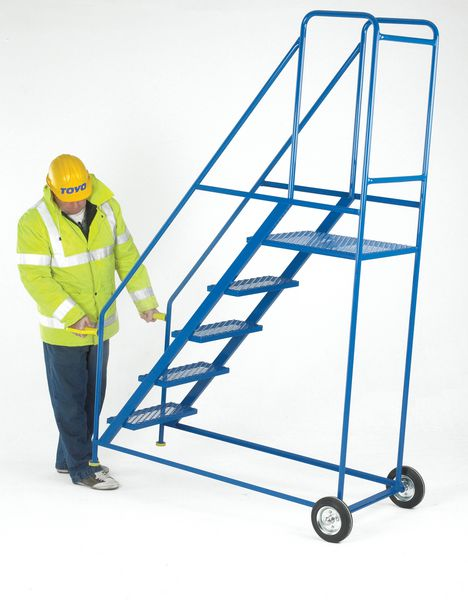 Steel & Galvanised Mobile Safety Steps