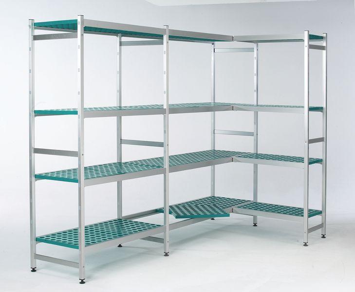 Aluminium Shelving - Initial Bays