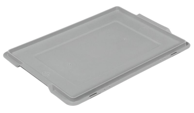 Solid Stackable Plastic Container Lids