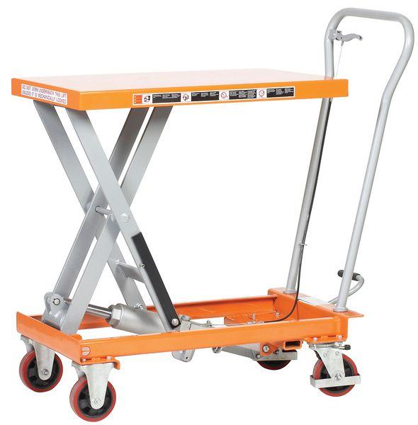 Single Mobile Scissor Lift Tables