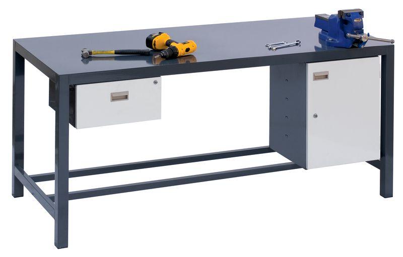 Steel Heavy-Duty Workbenches