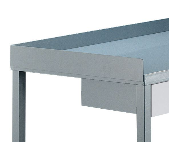 Retaining Lips for Steel Heavy-Duty Workbenches