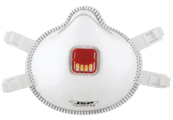 JSP® 132 FFP3 Disposable Respirator Mask with Valve