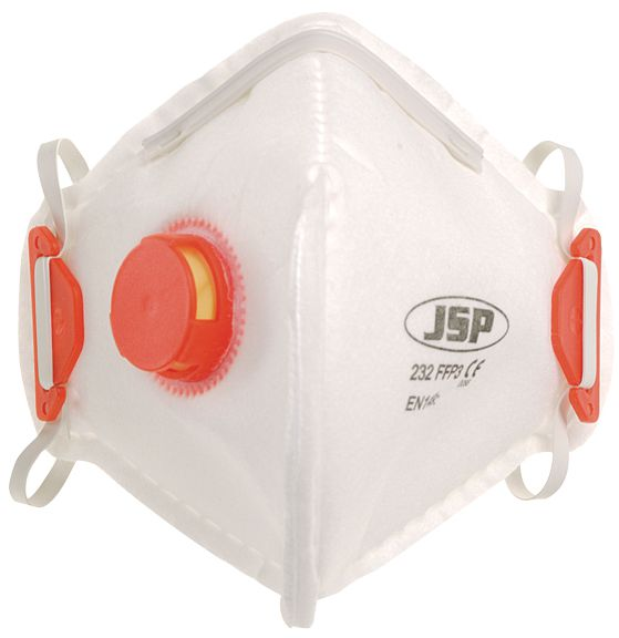 JSP® FFP3 Standard Folding Mask with Valve