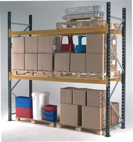 Deep Racking Pallet Bays - 1100mm (1000kg per pallet)