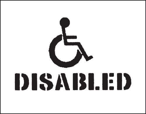 Reusable Stencil - Disabled