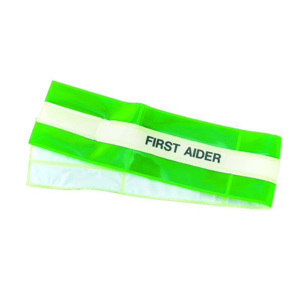 High-Visibility First Aider Armband
