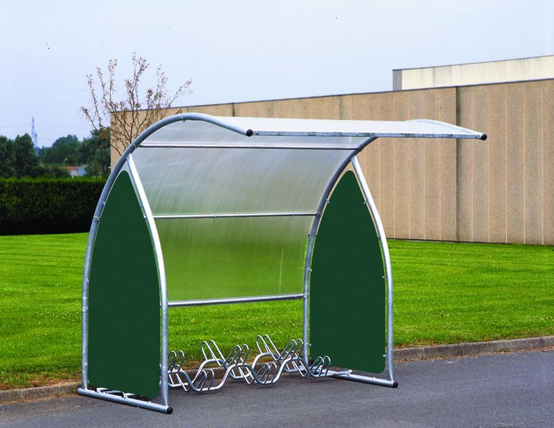 6 Cycle Rack for Curved Cycle Shelter