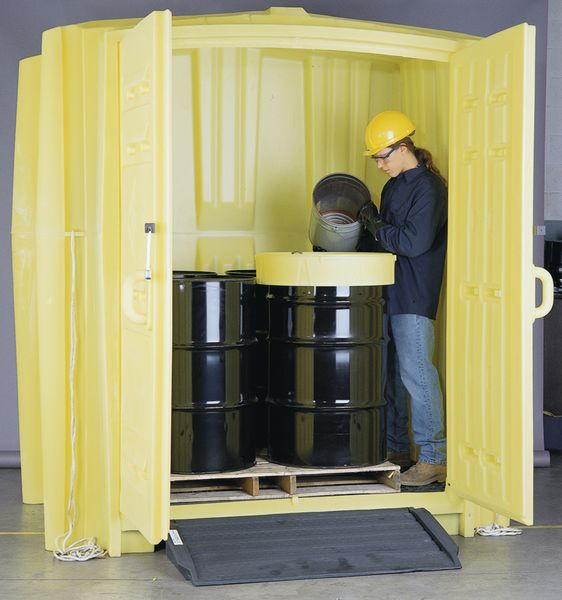 Enpac Polyethylene Drum Storage Hut