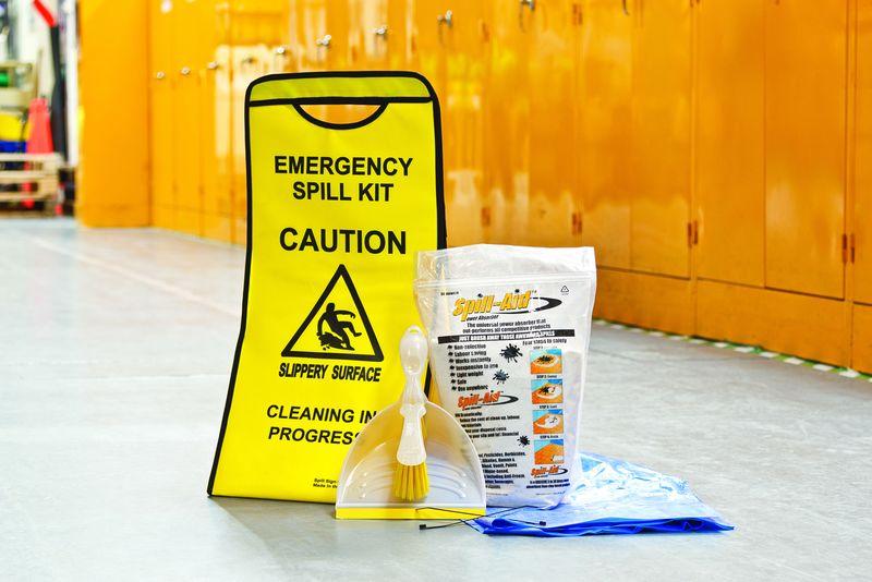 Spill Sign Caddy™