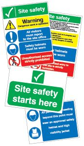 Site Safety Sign Pack