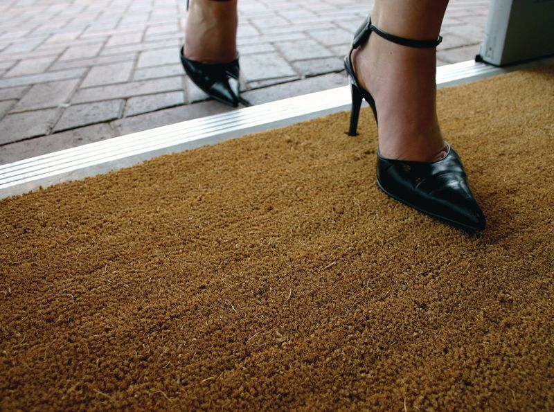 Coir Entrance Matting - 23mm Thickness