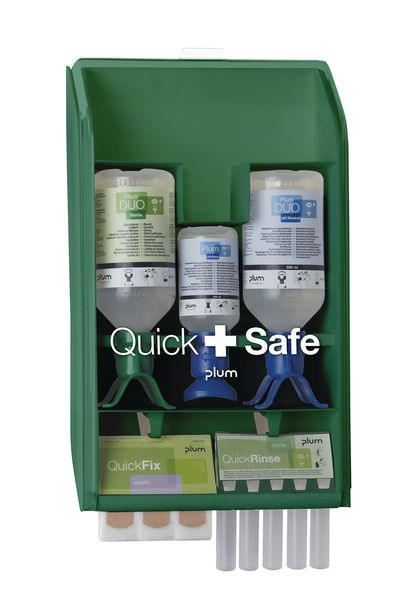 Quicksafe Wall Case for the Chemical Industry