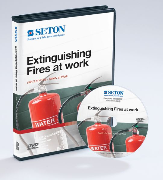 Extinguishing Fires at Work DVD