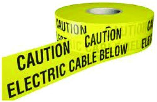Underground Electrical Warning Tape