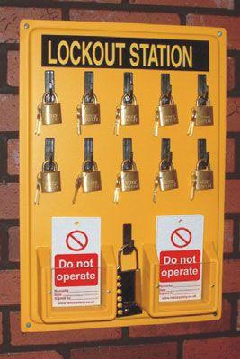 Lockout Stations (Empty)