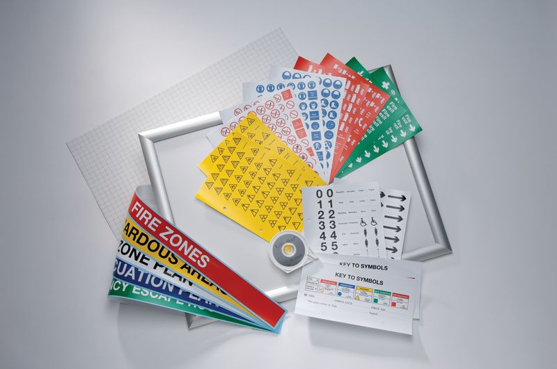 Emergency Escape Route Plan Kits - Standard