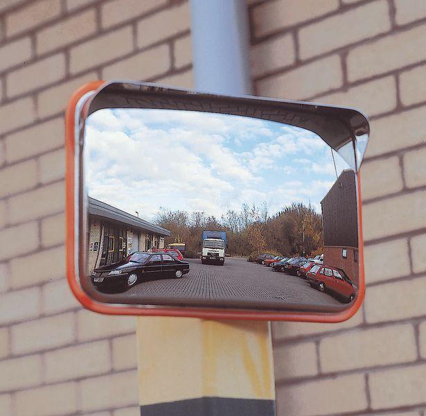 Anti-Vandal Traffic Mirrors