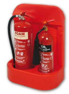Heavy-Duty Fire Extinguisher Stands