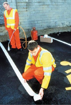 Flexiline Preformed Thermoplastic Road Markings - Lines