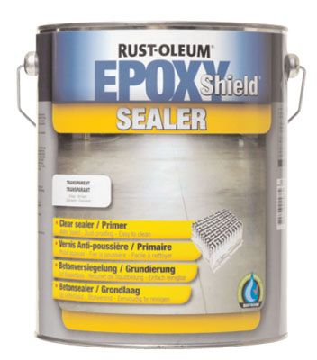 Epoxy Shield Sealer - Dust Proof Coating