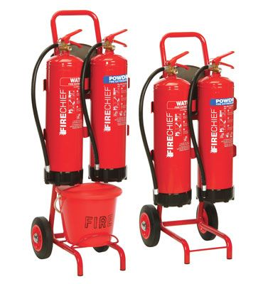Mobile Fire Extinguisher Stands
