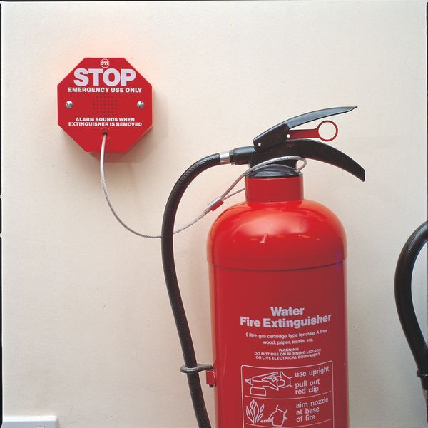 Fire Extinguisher Stopper