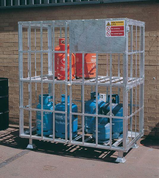 Gas Cylinder Carrier - Galvanised