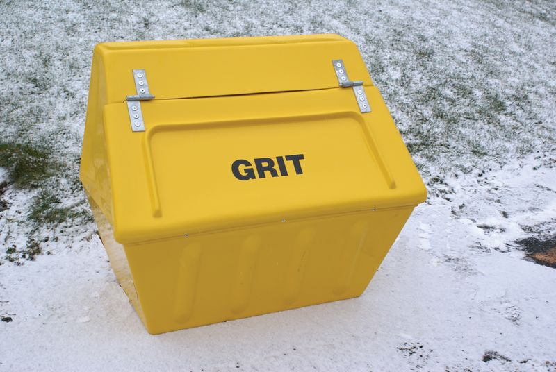 Glass Fibre Grit Bins